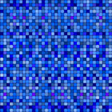 Blue squares abstract pattern. Stock Photos