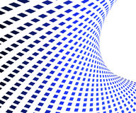 Blue squares background. With white line Royalty Free Stock Images