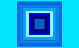 Blue Squares Background Stock Photos