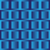 Blue squares Stock Images