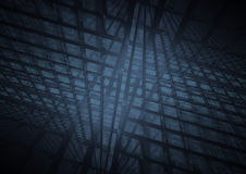 Blue squares background Royalty Free Stock Photography