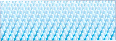 Blue squares on blue background Royalty Free Stock Photos
