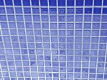 mini blue tiles royalty free stock images