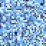 Blue squares pattern Stock Photo
