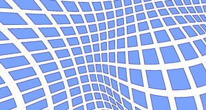 Blue squares on white Royalty Free Stock Image