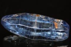 Blue Sri Lanka Gemstone. Rough sapphire from Ratnapura mining area in Sri Lanka Royalty Free Stock Photo