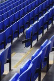 Blue Stadium Seating Royalty Free Stock Image