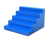 Free Blue Stairs Royalty Free Stock Image - 54562056