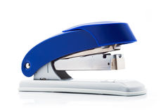 Blue stapler Royalty Free Stock Photo