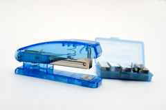 Blue Stapler Stock Photos