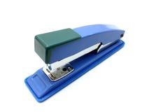 Blue stapler. Isolated on white background Stock Photos