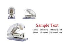 Blue stapler Royalty Free Stock Photography