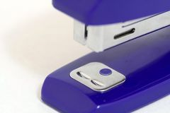 Blue stapler Royalty Free Stock Photos