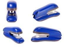 Blue stapler Royalty Free Stock Photo
