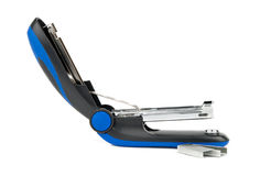 Blue stapler Royalty Free Stock Photos