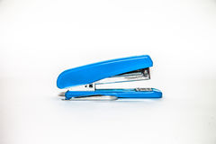 Blue Stapler Royalty Free Stock Photography