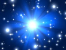 Blue star Stock Images
