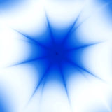 Blue star Royalty Free Stock Photography