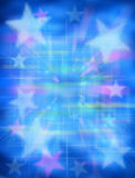 Blue Star Background Royalty Free Stock Image