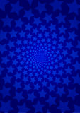 Blue star background Royalty Free Stock Images