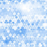 Blue star background. Blue star pattern abstract style for web illustration royalty free illustration