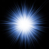 Blue Star Burst Stock Photo