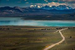 Blue Star Highway to Mono Lake California Overlook Stock Photography