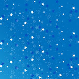 Blue star isolated on background.Confetti celebration. Falling stars abstract decoration. Blue star isolated on background. Confetti celebration, Falling stars Stock Photos
