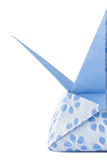 Blue Star Origami box Royalty Free Stock Photos