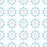 Blue star seamless pattern. An illustration of blue star seamless pattern Stock Image