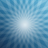 Blue Star Shaped Background. Abstract Winter Vector Design Stock Photo