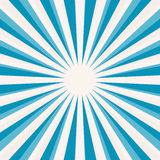 Blue Star Shaped Retro Background. Abstract Vector Blue Star Shaped Retro Background Royalty Free Stock Photo