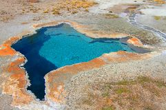 Blue Star Spring In Yellowstone Royalty Free Stock Images