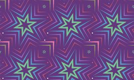 Blue star on violet background design. seamless pattern. vector stock image