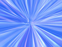 Blue starburst Stock Image