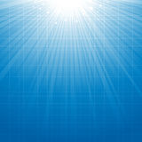 Blue starburst background. Blue abstract sturburst background for your design Royalty Free Stock Photo
