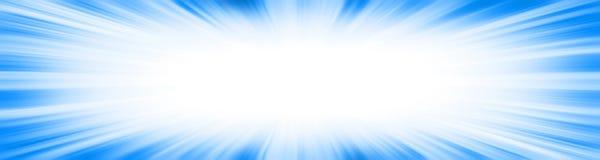 Blue starburst explosion border frame royalty free illustration