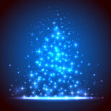 Blue starry background Royalty Free Stock Photography