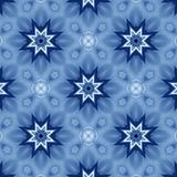 Blue stars royalty free illustration