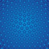 Blue Stars Background Stock Photography