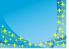 Blue and stars background Stock Image