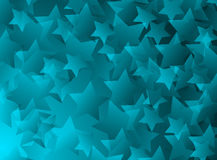 Blue Stars  Royalty Free Stock Photography