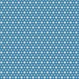 Blue Stars Diamonds Squares Geometric Pattern Fabric Background. Blue Stars Diamonds Squares Stars Geometric Seamless Pattern Fabric Texture Background Template Royalty Free Stock Photos