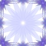Blue Stars Frame Royalty Free Stock Images
