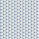 Blue stars on white texture Stock Image