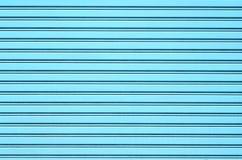 Blue Steel door Stock Images