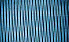 Blue Steel mesh screen background Royalty Free Stock Image