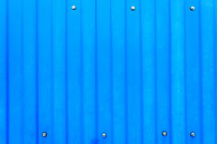 Blue steel metal background Stock Photo