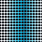 Blue steel, seamless pattern. Blue steel with holes, seamless pattern Royalty Free Stock Image