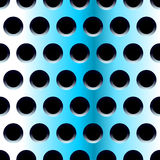 Blue steel seamless pattern. Blue steel with holes seamless pattern Stock Image